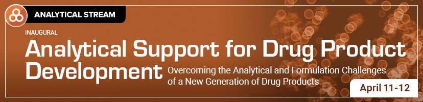 Analytical Support for Drug Product Development