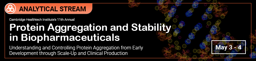 Protein Aggregation and Stability in Biopharmaceuticals Banner